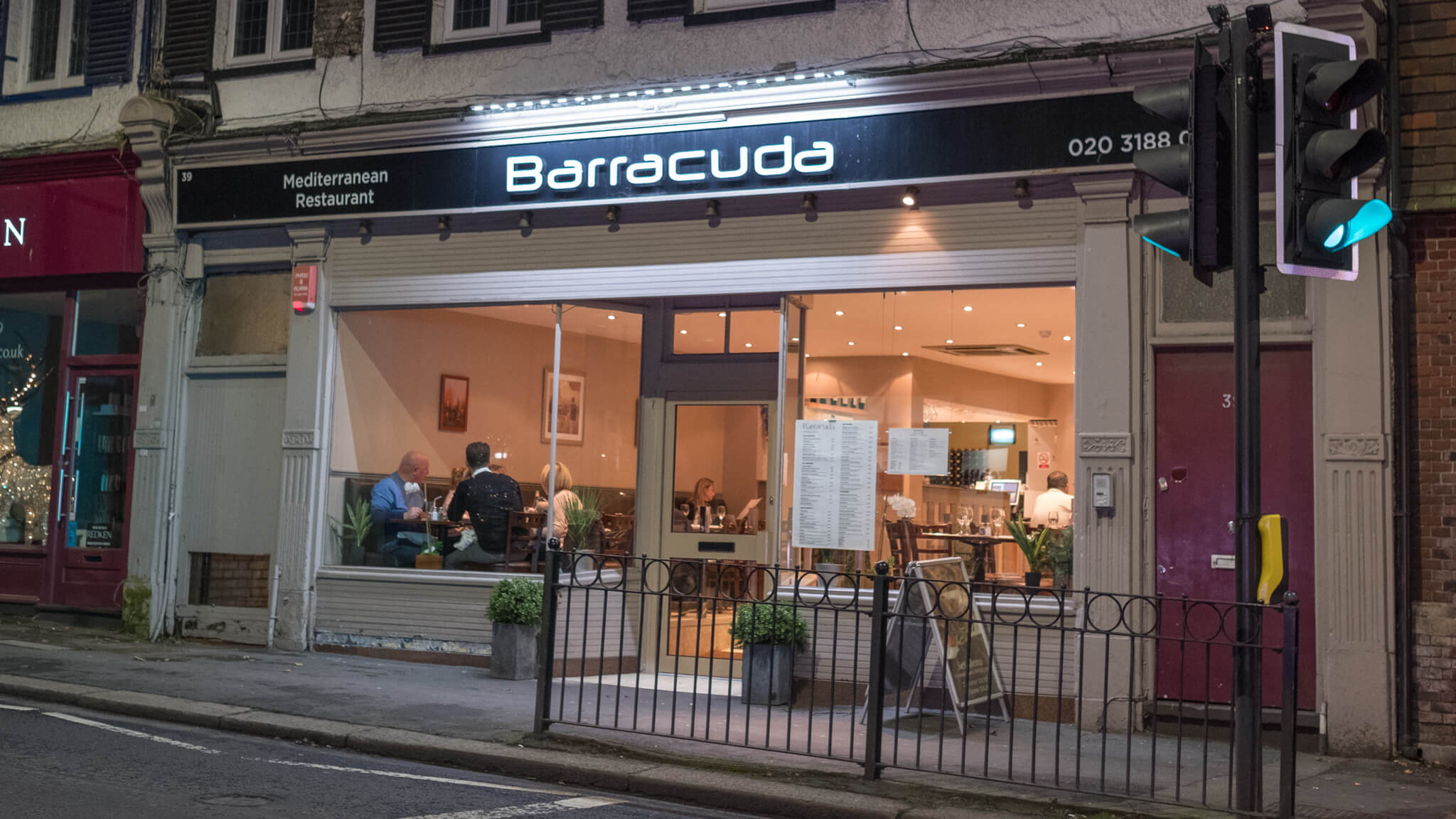 Barracuda Restaurant in Bushey